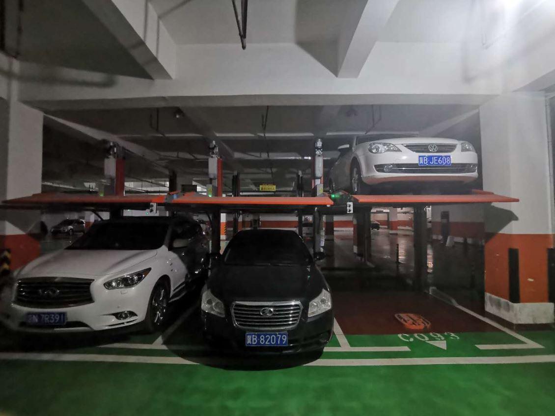家用式两层简易升降停车设备